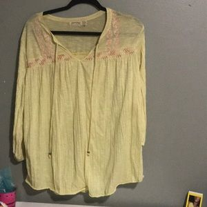 A nice yellow blouse